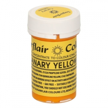 Konzentrierte Gelfarbe - Canary Yellow