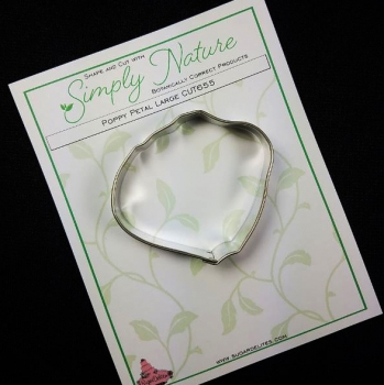 Poppy Petal Cutter Large By Simply Nature Botanically Correct Products®