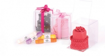 Mini Cake Box - 4er Set