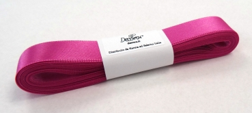 Satinband Fuchsia - 15mm x 5m