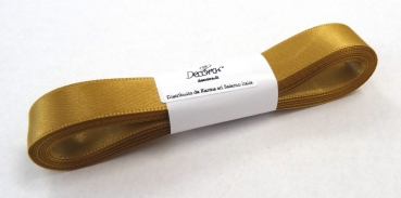 Satinband Gold - 15mm x 5m