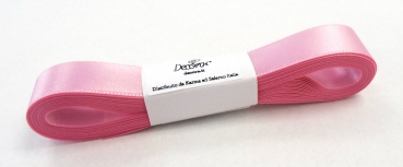 Satinband Rosa - 15mm x 5m