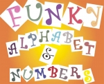 Funky Alphabet and Number Tappit Set